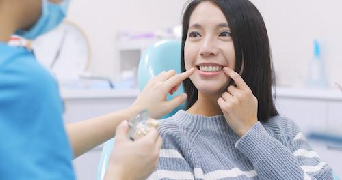 Woman at Dental Crown Consultation | Dentist in Phoenix