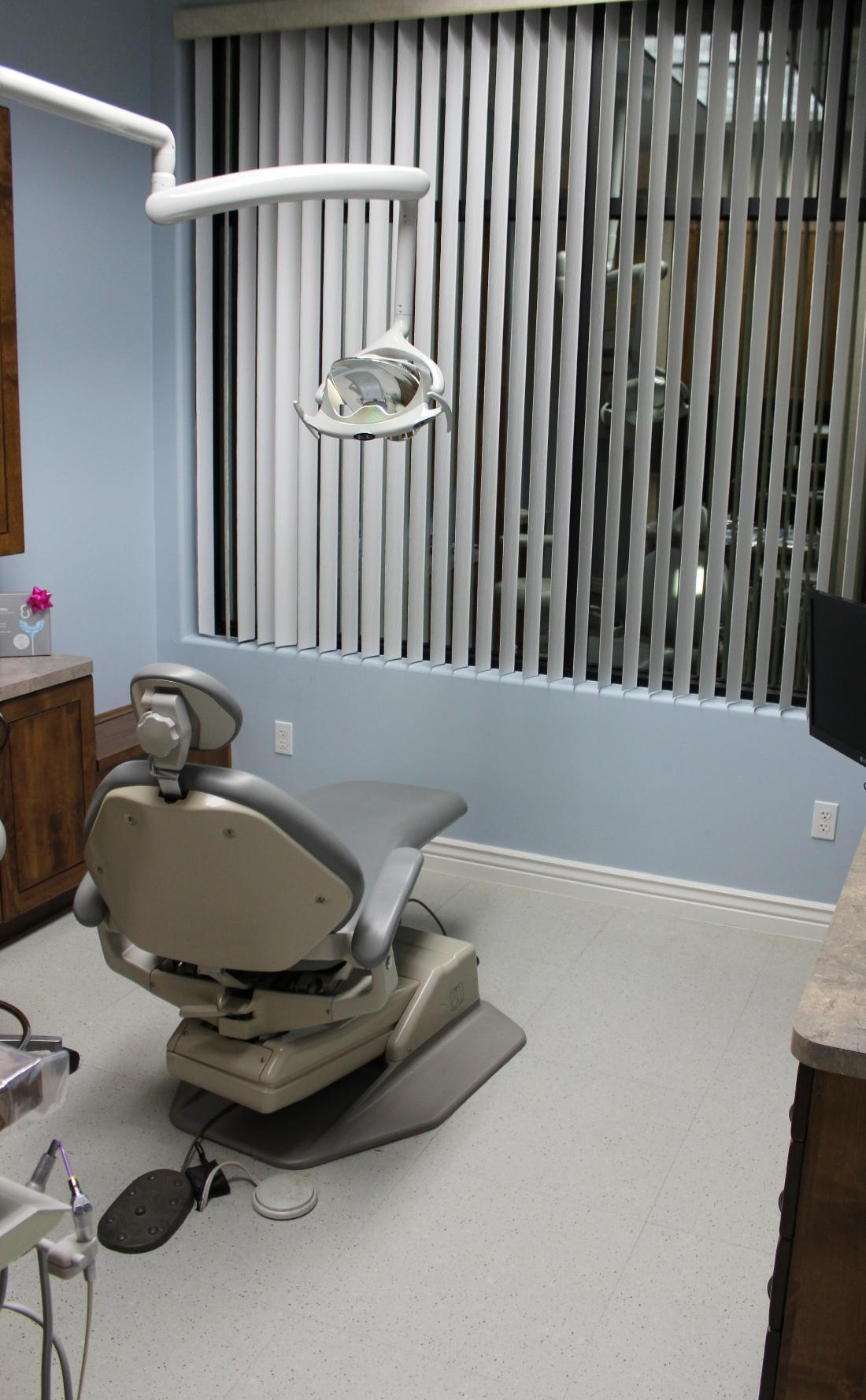 Modern treatment rooms