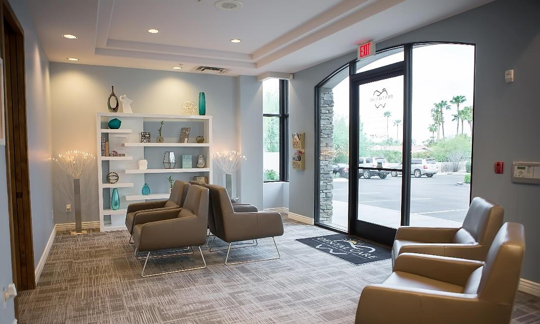 Reception Area | Dental Care and Moon Valley