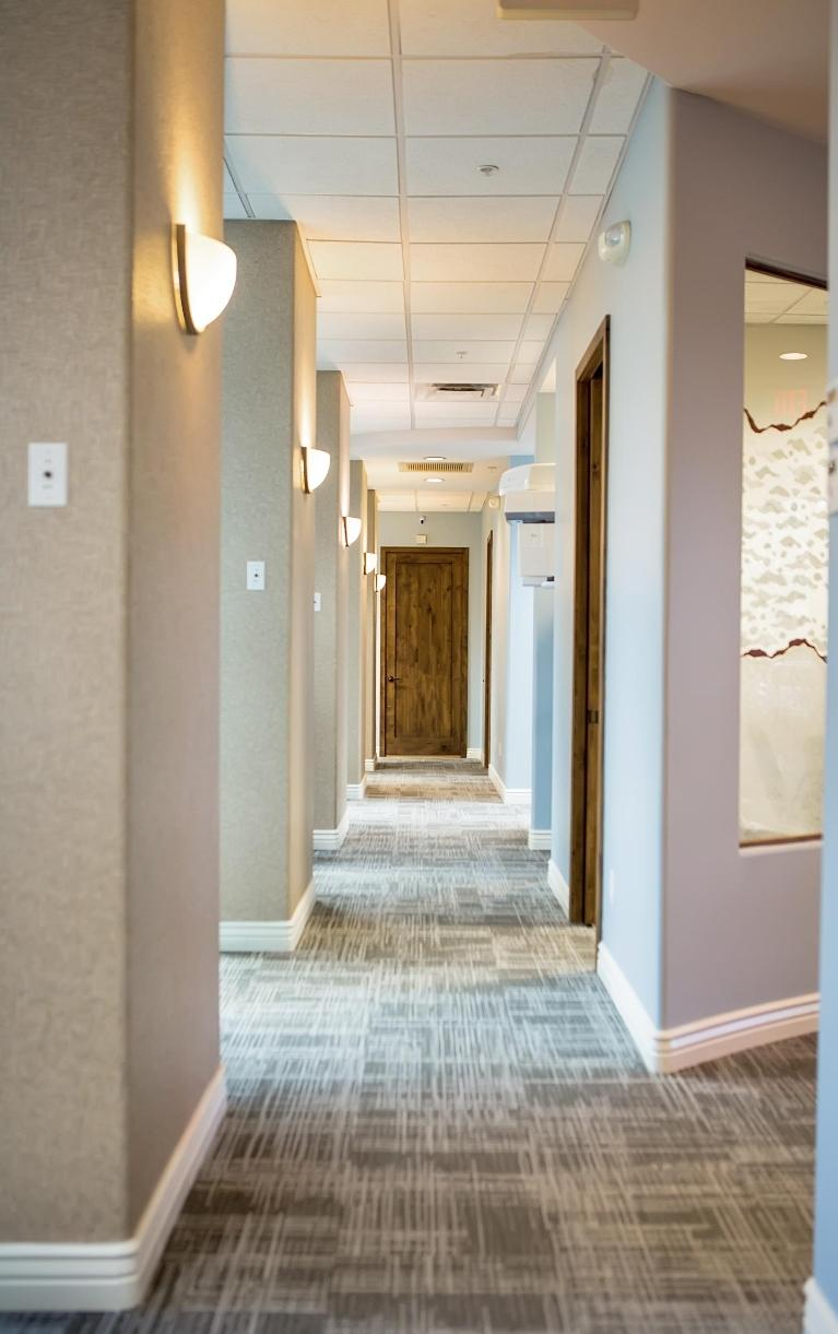 Back Hall | Dental Care at Moon Valley
