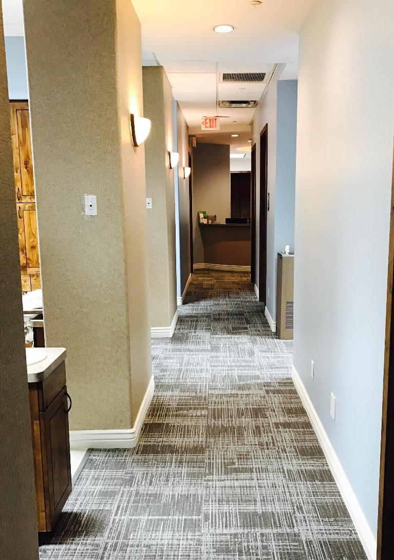 Front Hallway | Dental Care at Moon Valley